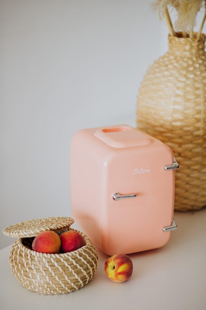 Mini Frigider Cosmetice Soft Peach